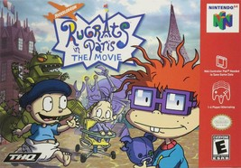 Rugrats in Paris: The Movie *Cartridge ONLY (Nintendo 64, Model# NUS-006, USED ) - $7.91