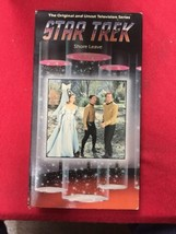 Star Trek Classic VHS con Previews - Shore Leave - $15.50