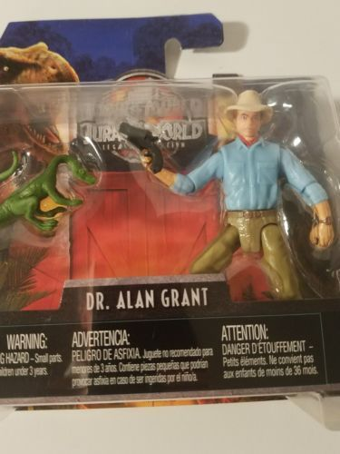 Jurassic World Exclusive Legacy Collection Dr Alan Grant Jurassic Park NEW