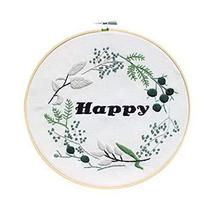 Handmade Embroidery Counted Cross Stitch Kits Needlework Kit For Beginne... - $17.40