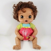 Baby Alive My Baby Alive Doll Hispanic Brunette Bilingual WORK 2010 Eat ... - $37.99