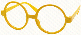 Classic Vintage Round Wizard Costume Nerdy Glasses Frames NO LENS Spectacle Wear image 8