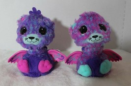 Hatchimals Surprise Peacat Twins Interactive Creatures Pink Blue Purple ... - $59.39