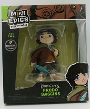 Mini Epics Frodo Baggins Figure Weta Workshop LootCrate Lord of the Rings - $8.99