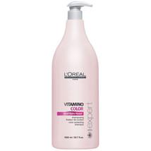 L'Oreal Professionnel Serie Expert Vitamino Color Shampoo (1500ml) and Pump - $153.71