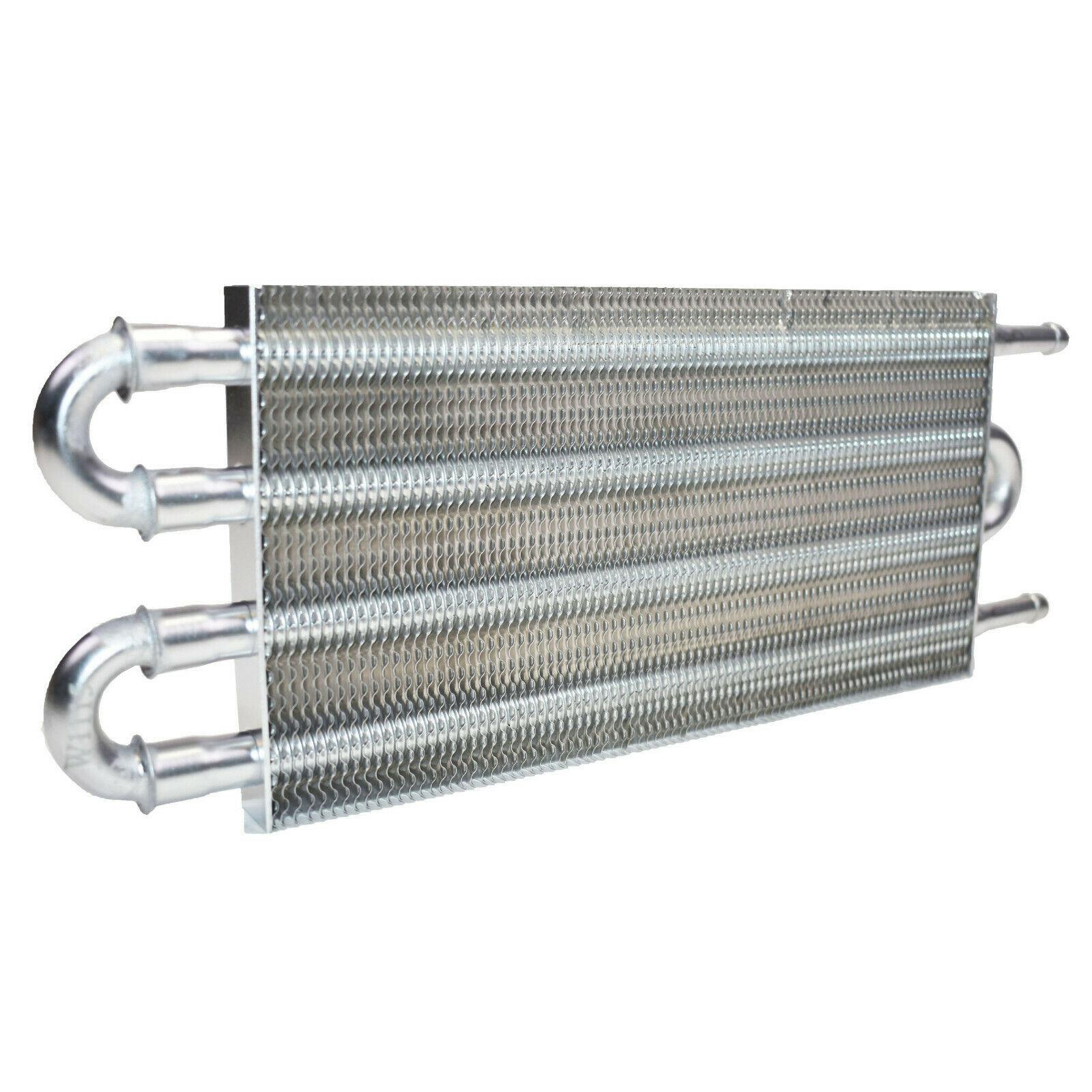 "3/8"" Universal Aluminum Transmission Oil Cooler 12-3/4"" X 5"" X 3/4"""