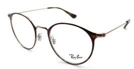 Ray-Ban Rx Eyeglasses Frames RB 6378 2971 49-21-145 Havana / Copper - $137.20