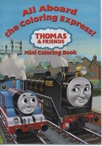 All Aboard the Coloring Express - Thomas & Friends - Mini Coloring Book ... - $1.50