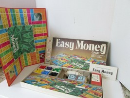 VTG 1974 MILTON BRADLEY EASY MONEY BOARD GAME #4620 COMPLETE  - $10.73