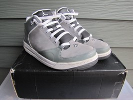 Jordan As-You-Go Size Basketball Shoes 9.5 487888-004 White and Cool Gray - $39.19