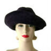 Vintage 60's George Malyard Purple Suede Hat - $135.00