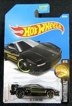 2017  Hot Wheels  Black '90 Acura NSX  Card #262   HW-30 - $2.25