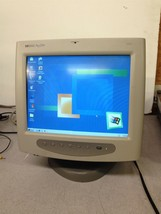 "Vintage HP Pavillion M70 Gaming Monitor CRT 15"" Built in Mic VGA Cable - $70.00"