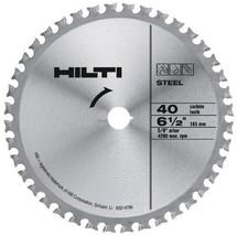"""Hilti SC-C MU 6-1/2"""" Diameter 5/8"""" Arbor Blade for Ferrous Metals - 2014798 - $190.81"""