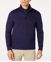 Tasso Elba Men's Birdseye Quarter-Zip Sweater XXL - $22.77