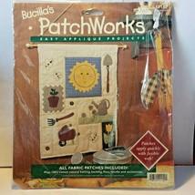 "Bucilla Patchworks Easy Applique Garden Sampler Kit #41152 13"" x 16""  - $9.46"