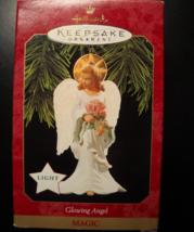 Hallmark Keepsake Christmas Ornament 1997 Glowing Angel Magic Light Boxed - $7.99