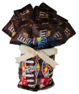 M&M Candy Bouquet by The Candy Vessel - $19.99