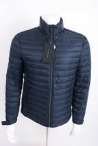 Zara Man Mens Down Puffer Jacket Coat Navy Blue Lightweight S M XL 6518/458 NWT - $95.20