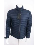 Zara Man Mens Down Puffer Jacket Coat Navy Blue Lightweight S M XL 6518/... - $119.00