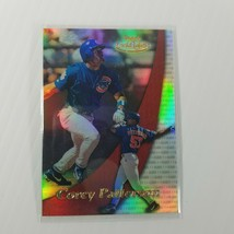 2000 Topps Baseball Card Corey Patterson #42 Gold Label Class 1 Embossed - $4.45
