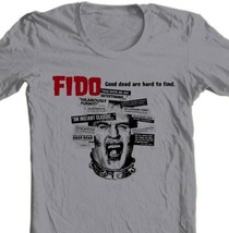FIDO movie T-shirt film Zombie horror movie 100% cotton grey tee Free Shipping image 1