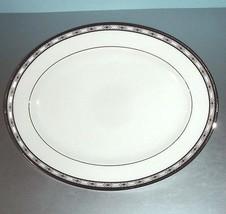 "Gorham Newport Palace Oval Serving Platter 14"" Retail $172 NEW - $41.90"