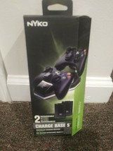 Nyko Charge Base S-2 Port Controller Charger with 2 Rchgble Batts for Xb... - $28.04