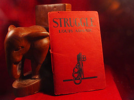 STRUGGLE by Louis Adamic 1934 1st edition - $29.40