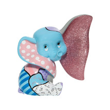 "6"" High Disney Britto Baby Dumbo Figurine Multicolor Hand Painted - $89.09"