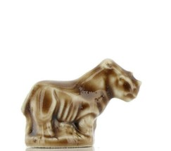 Whimsies Wade England Miniature Noah's Ark Rhino Head Up