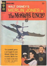 Walt Disney's The Monkey's Uncle Movie Comic Book Gold Key 1965 VERY GOOD+/FINE- - $13.54