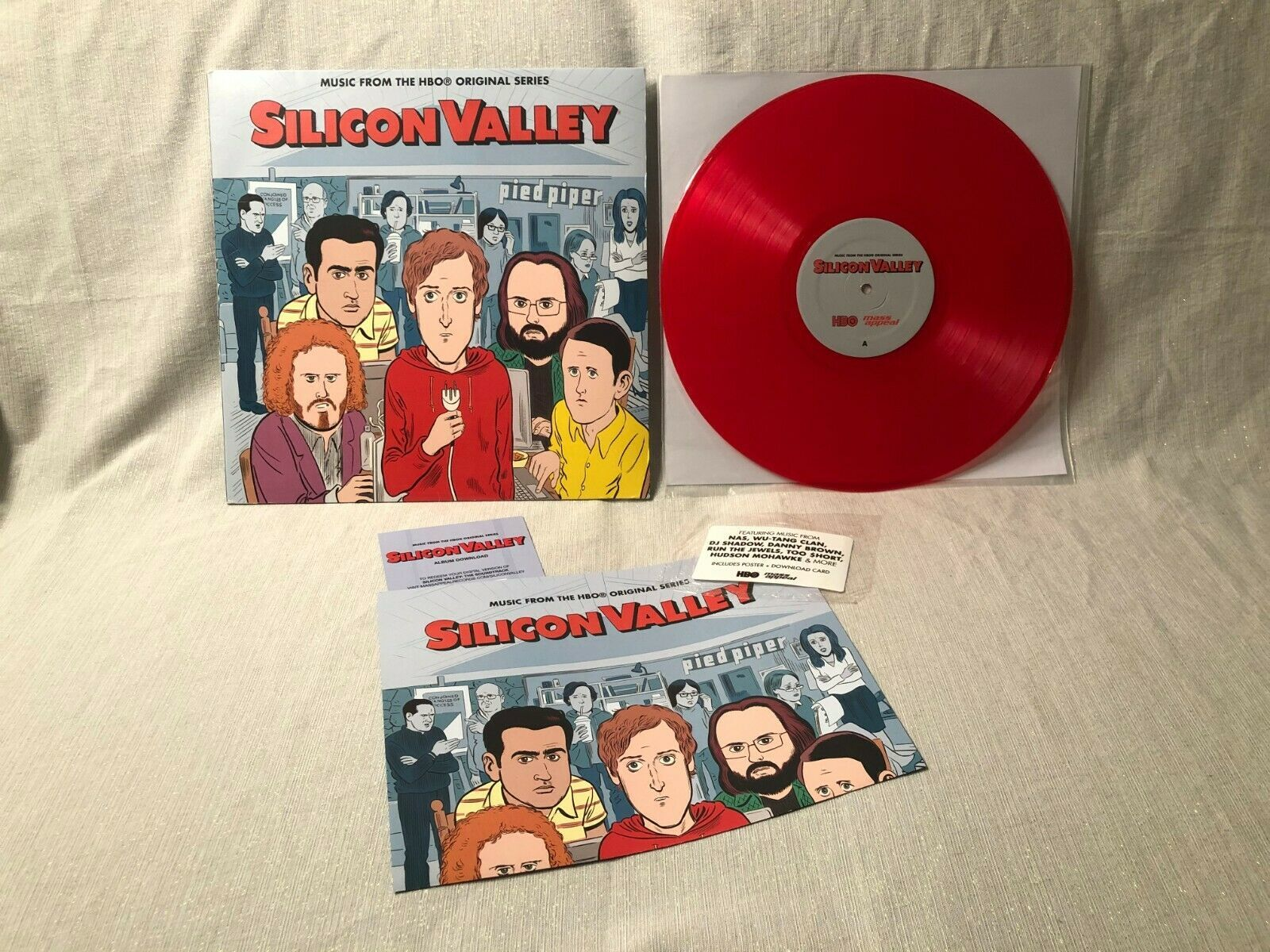 Primary image for 2017 Silicon Valley HBO Series OST LP Mass Appeal ‎Records MSAP 0043LP EX/VG+