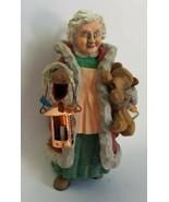 Hallmark Keepsake Ornament - Folk Art Americana - Mrs. Claus - 1996 - $8.86