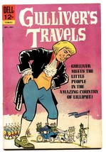Gullivers Travels #1 Comic Book 1965-DELL-1ST ISSUE-ELUSIVE - $37.83