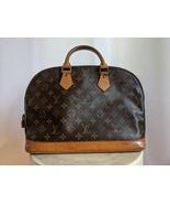 Louis Vuitton Alma Handbag Monogram PM Brown  - $825.00