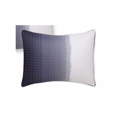 2 Vera Wang DIP DYE DOTS King Pillow Shams NEW - $129.14