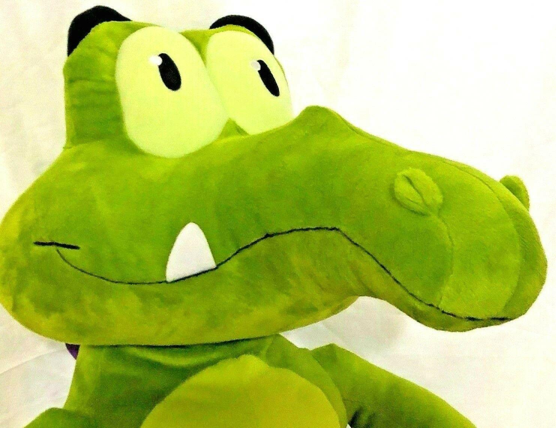 "Disney WHERES MY WATER Swampy 22"" LARGE Plush Doll Jakks 2012 image 4"