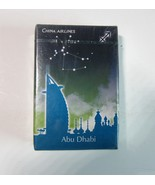 Sealed Deck of China Airlines ABU DHABI Playing Cards-Travel Horoscopes ... - $8.50