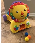 Fisher Price 3-in-1 Sit, Stride & Ride Lion - Colors Numbers Songs Music... - $35.64