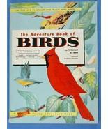 Jerr, A.: The Adventure Book of Birds, National Audubon Society 1960 SC - $10.00