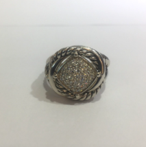 David Yurman Infinity Ring with Diamonds - $750.00
