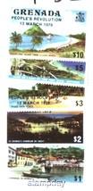GRENANDA 1979 # 865-979 SAILBOAT HIGH VALUES REVOLUTION SAIL BOATS 3255-A2 - $24.75