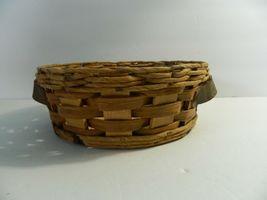 Vintage Pyrex Wicker Wood 2 Qt Casserole Dish Holder Cradle Fits 024 624 684 image 4