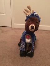 Build A Bear Dasher Reindeer Holiday Bear Christmas Toy Stuffed Animal - $38.97