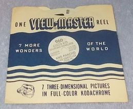 Sawyer's View Master Reel #960 Cisco Kid [Duncan Renaldo] and Pancho - $5.95