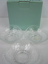Partylite Clarity Tealight Mini Ball Trio Candle Holders P9207 Set of 3 - $12.86