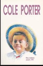 COLE PORTER #2550 FDI CEREMONY PROGRAM PERU IN JUNE 8 1991 - $8.58
