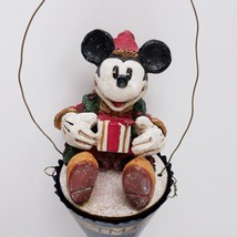 Disney Mickey Mouse Pam Schifferl Christmas Ornament Limited Edition 1999 MCF - $39.99