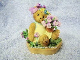 Cherished Teddies Abbey Press Blooming Easter Blessings 2009 NIB - $37.95